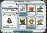 Upgrade chemist to level 4