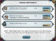 Quest Increase Reputation II-Tasks