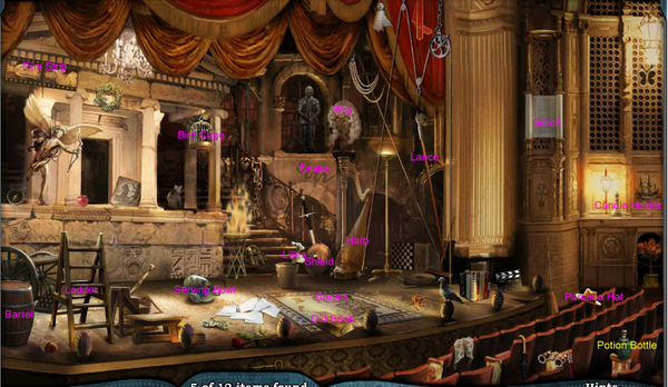 Scene The Stage-Object Map