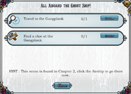 Quest All Aboard the Ghost Ship!-Tasks