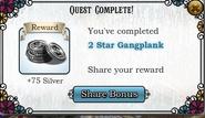 Quest 2 Star Gangplank-Rewards
