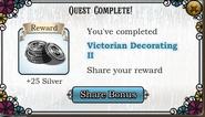 Quest Victorian Decorating II-Rewards