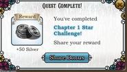 QuestChapter 1 Star Challange-Rewards