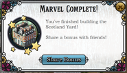 Quest Complete the Scotland Yard-Rewards