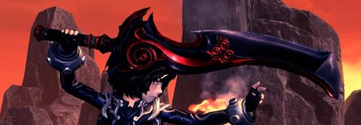 Crimson True Lynblade side