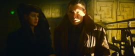 Rachael and Deckard in Apartment