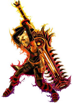 Ark Wing (Character Select Artwork, CarlosIXA)