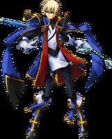 Jin Kisaragi (Continuum Shift, Character Select Artwork)