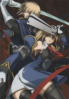 BlazBlue Calamity Trigger Material Collection (Illustration, 12)