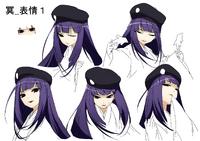 Mei Amanohokosaka (Concept Artwork, 11)