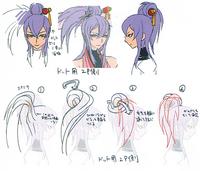 Amane Nishiki (Concept Artwork, 2)