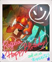 Ragna the Bloodedge (Birthday Illustration, 2011)