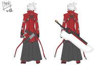 Ragna the Bloodedge (Concept Artwork, 2)