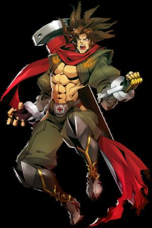 Bang Shishigami (Centralfiction, Character Select Artwork)