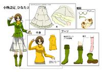 Hinata Himezuru (Concept Artwork, 4)