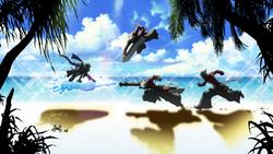 Jin Kisaragi (Continuum Shift, Story Mode Illustration, 4)
