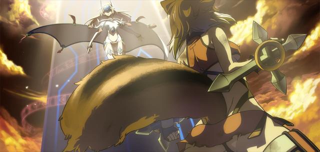 File:Makoto Nanaya (Continuum Shift II, Arcade Mode Illustration, 2).png