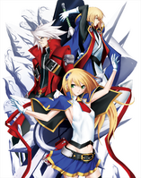 BlazBlue Chronophantasma Story Maniacs Material Collection II (Illustration, 7)