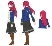 Tsubaki Yayoi (Concept Artwork, 1)