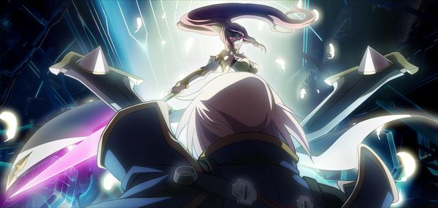 File:Jin Kisaragi (Chronophantasma, Arcade Mode Illustration, 1).png