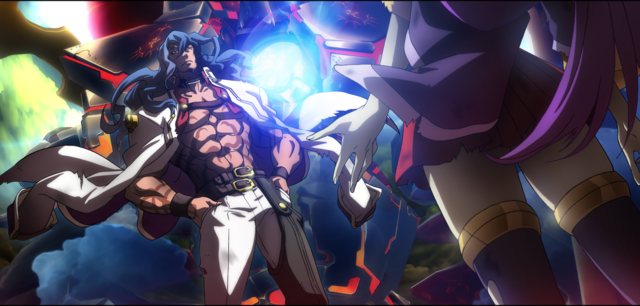 File:Azrael (Centralfiction, arcade mode illustration, 3).png