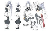 Hakumen (Concept Artwork, 3)