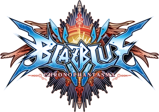 File:BlazBlue Chronophantasma (Logo).png