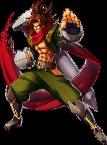 File:Bang Shishigami (Chronophantasma, Character Select Artwork).png