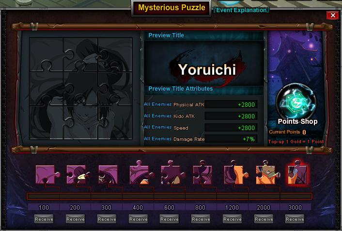 Mysterious Puzzle Yoruichi