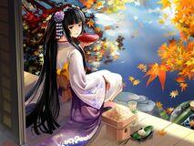 Anime girl geisha kimono 623 1280x960