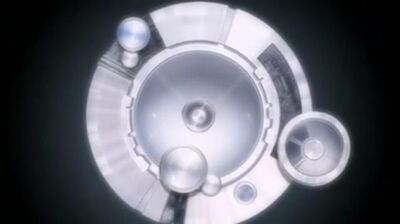 White Round Machine