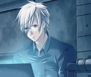 Hyoushin at a computer