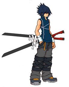 Kingdom Hearts Sasuke Uchiha by dopeheaton