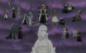 Zanpakuto Spirits