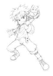Taiki kudou sketch by bleedman by darkjanet-d78ujth