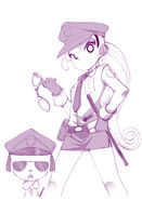 Police bell handcuff your heart by jorama-d865ogs