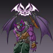 Gremlin the bat by dragonman32