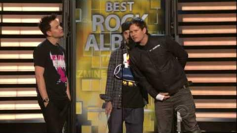 2009 GRAMMY Awards - Coldplay Wins Best Rock Album