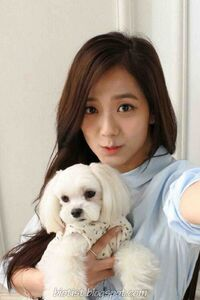 Jisoo with Dalgom