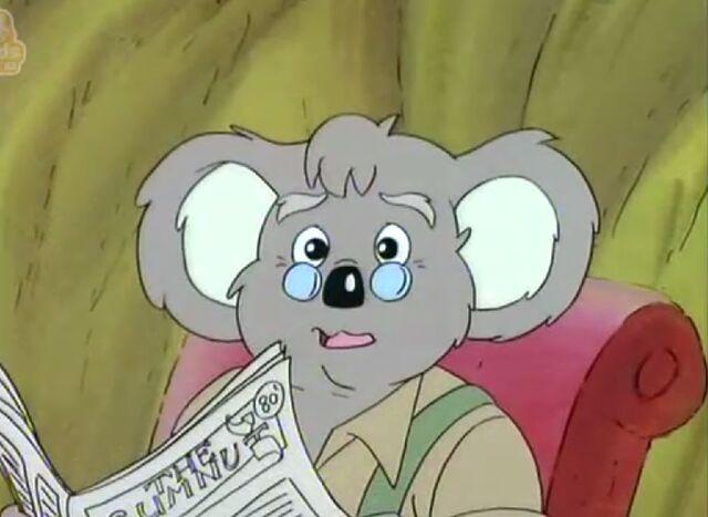 File:Mr Koala with newspaper .jpg