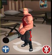 Axis Gunner In Shop