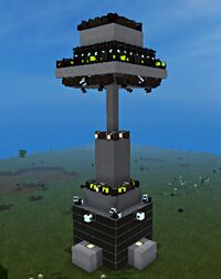 Tower With Turrets