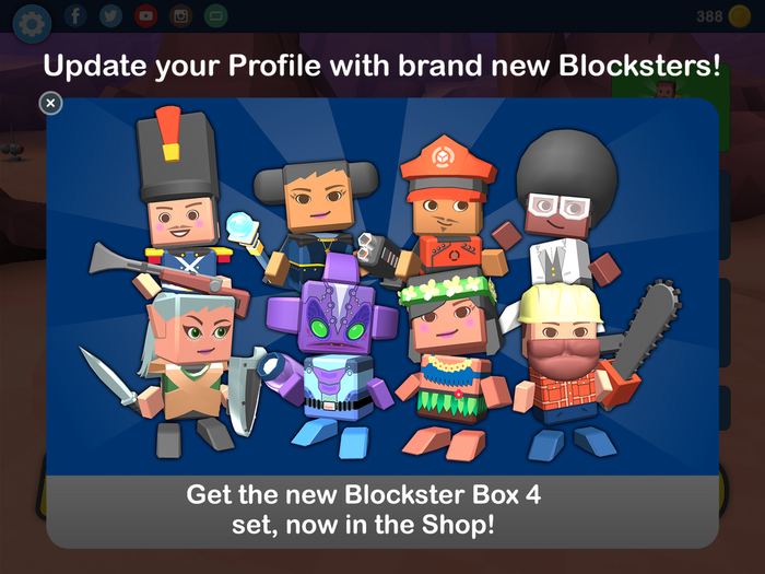 New Blockster Box 4 set!