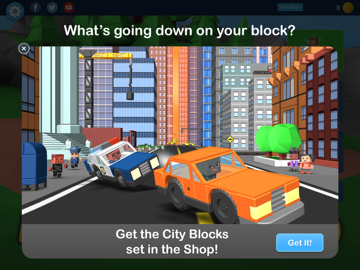 New City Blocks set!