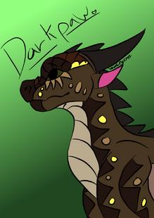 Darkpaw Dragon by VoidLegend