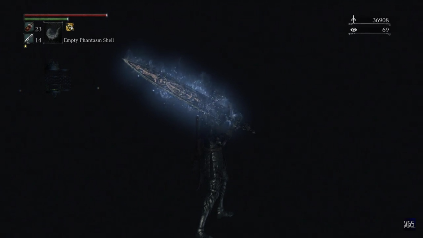 empty phantasm shell