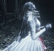 Yharnam, Pthumerian Queen Nightmare of Mensis 1