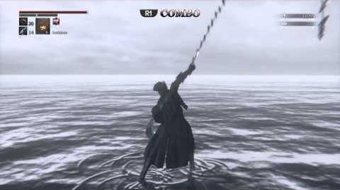 Threaded Cane - Weapon Showcase