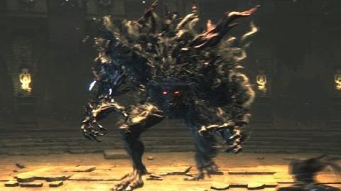 Bloodborne Abhorrent Beast Optional Boss Fight
