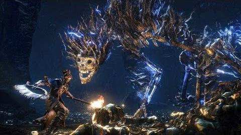Bloodborne Darkbeast Paarl Boss Fight